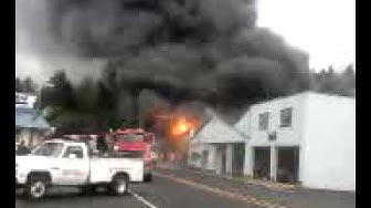 Cloverdale Oregon Fire May 28th 2010