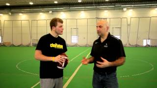 The Charlatan tries out for the Carleton Ravens football team
