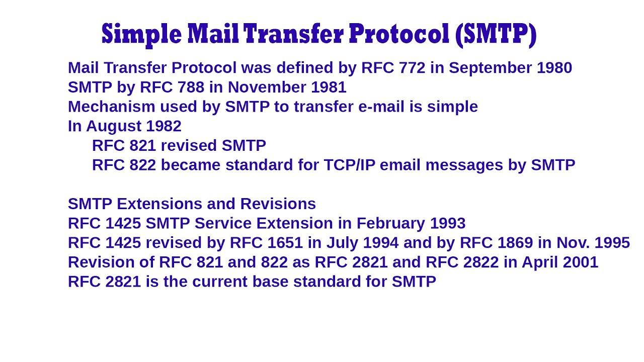 SMTP RFC 2821 EPUB DOWNLOAD