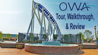 The Park At OWA Quick Tour, Walkthrough, & Review. Brand New Theme Park In Foley, Alabama
