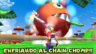 Enfriando al Chain Chomp!! - Jugando Super Mario Sunshine con Pepe el Mago (#11)