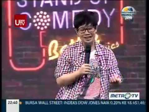 Alonki @ Stand Up Comedy MetroTV 11 Maret 2014