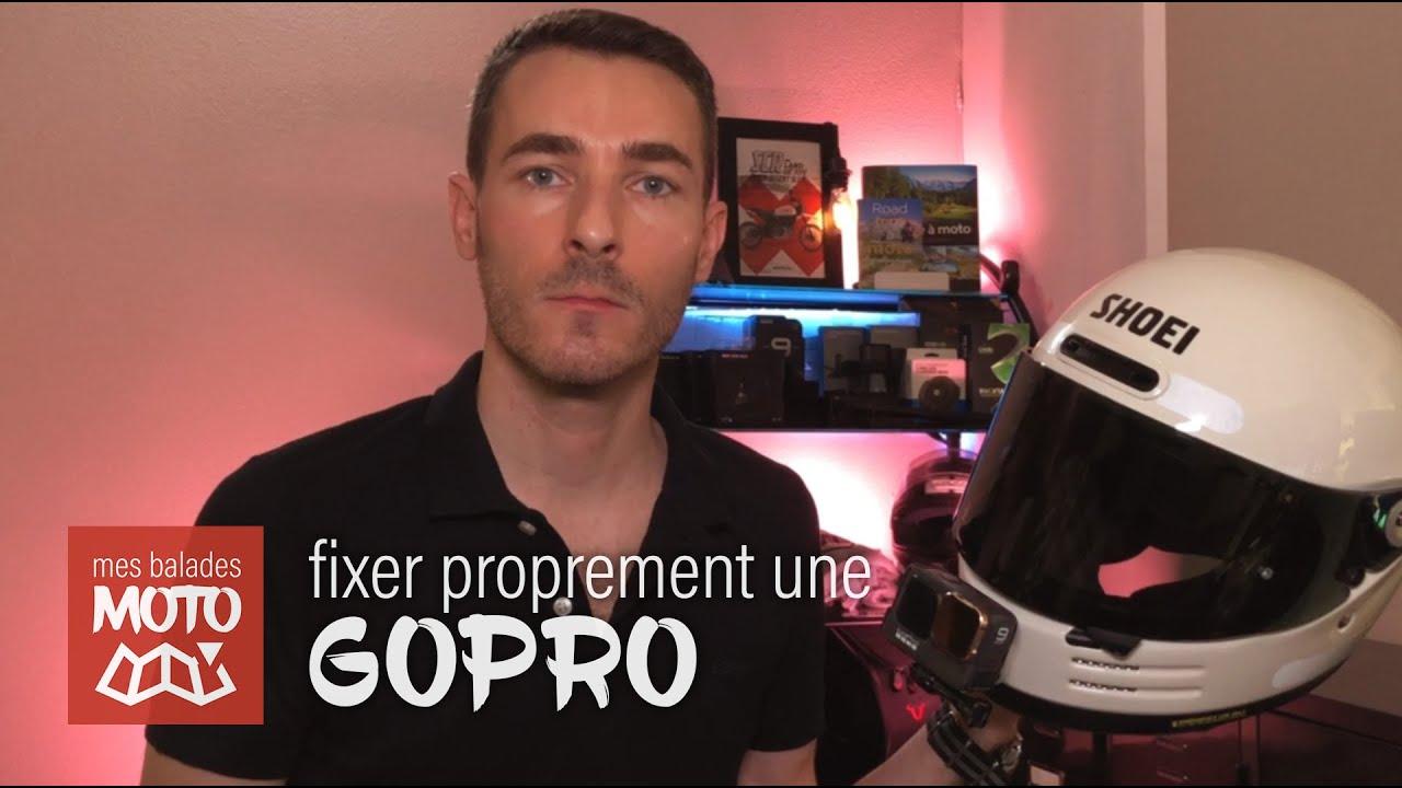 Comment Fixer Proprement une GoPro à un Casque Moto ? #Question 18