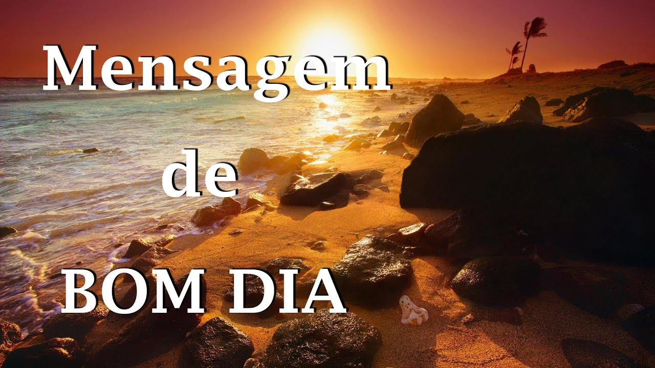 Mensagem CURTA De BOM DIA!