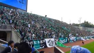2013.11.03 J2第39節 横浜FC 1 - 3 松本山雅FC@三ツ沢 松本山雅の選ば...