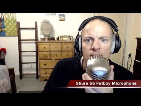 Shure 55 Fatboy Unidyne Microphone Review