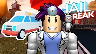 BUY NEW AMBULANCE AND VISITED THE HOSPITAL OF JAILBREAK ROBLOX