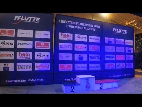 Finales des championnats de France de lutte seniors - Schiltigheim 2018
