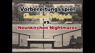 Vorbereitungsspiel 2021 Whippets vs. Nightmares