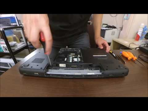 Dell Inspiron N7010 Disassembly [no Audio].