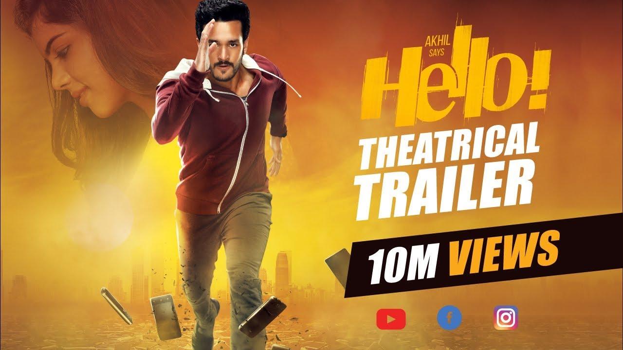 HELLO! Trailer – Akhil Akkineni, Kalyani Priyadarshan II Vikram K ...