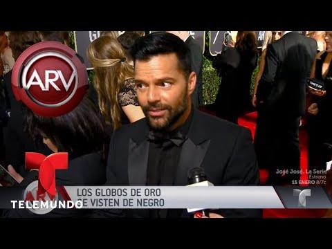 Gran noche para los latinos en los Globos de Oro | Al Rojo Vivo | Telemundo