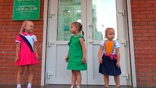 ВЛОГ Новые платья Алины и Юли Выбираем подарок на день рождения VLOG