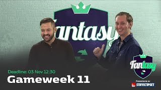 FanTV Fantasy S02: Gameweek 11