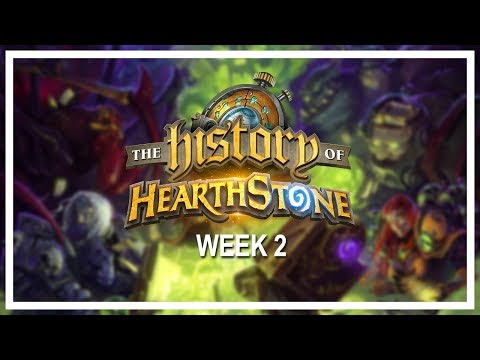 THE HISTORY OF HEARTHSTONE, Week 2 [Full VOD] — A six-week online tournament of nostalgia