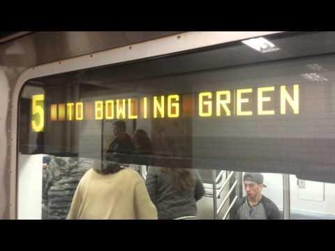 IRT Lexington Avenue Line: R142/A & R62A (4) (5) (6) Trains @ Fulton Street