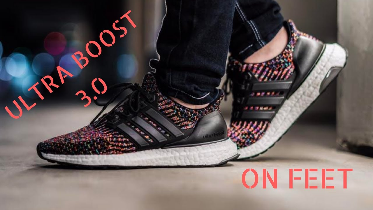 d9acc78a2 top quality adidas ultra boost 3.0 multi color quick on feet c6444 db12e