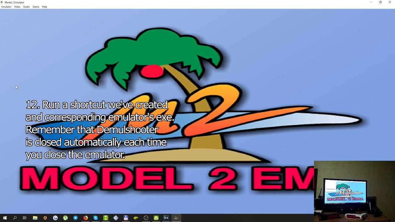 How to Wiimote: Sega Model 2 - Virtua Cop 2  2-players LightGun setup