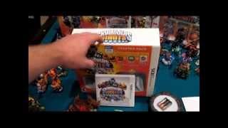 Skylanders Giants: Unboxing 3DS Starter Pack (Glow-in-the-Dark)