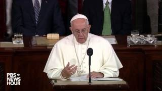 Watch: Pope Francis addresses Congress (with subtitles)