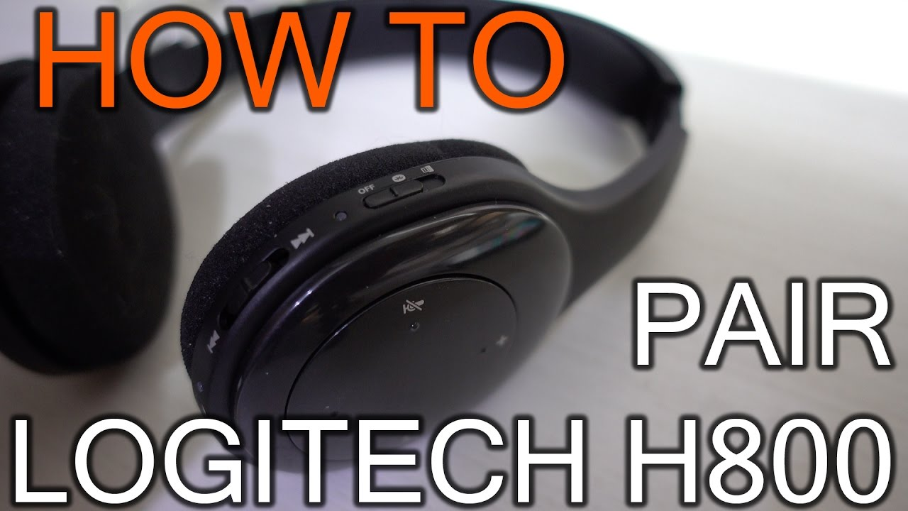 How To Pair Logitech H800 On Bluetooth Youtube