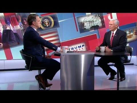 Mike Pence's entire interview with Jake Tapper