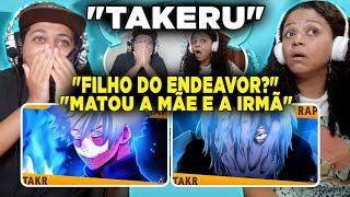 MINHA MÃE REAGINDO AO Rap do Dabie Rap do Shigaraki (Boku no Hero) | Takeru