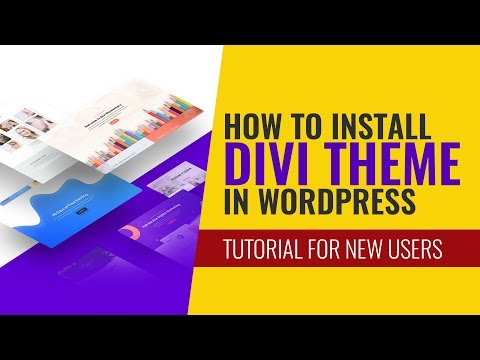 How to install Divi theme in wordpress without any issues: Tutorial for beginners and new users thumbnail