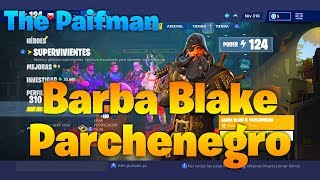 🧐 BARBA BLAKE PARCHE BLACK🧐 (Fortnite Save the World) [R.O.S.I.E Gun Damage ] . . . . . . . . . . . . . . . . . . . . . . . . . . . . . . . . . . . . . . . . . . . . . . . . . . . . . . . . . . . . . . . . . . . . . . . . . . . . . . . .