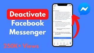 How to Deactivate Facebook Messenger (2020)