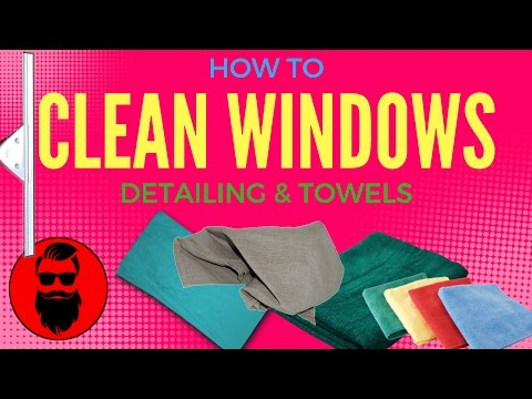 How To Clean Windows Professionally - Detailing