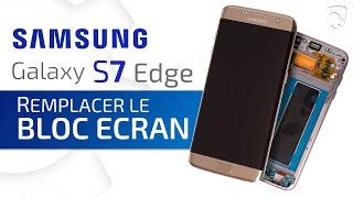 Tutoriel Samsung Galaxy S7 edge : remplacer le bloc écran complet (châssis-vitre-écran Amoled)