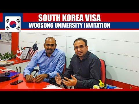 Study in South Korea | Watch Visa Process (Woosong University)
