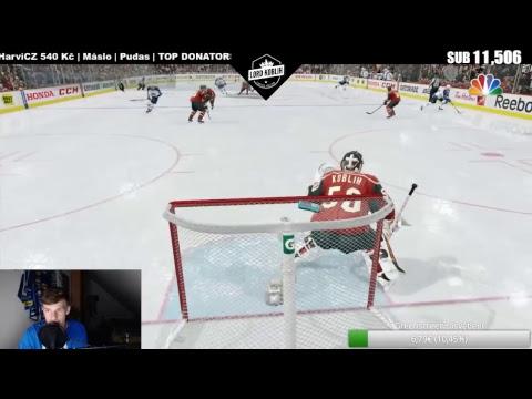 LIVE | NHL 17-Koblih Golmanem | WEBCAM-ODHALENÍ!!! :) | Lord Koblih | CZ/SK