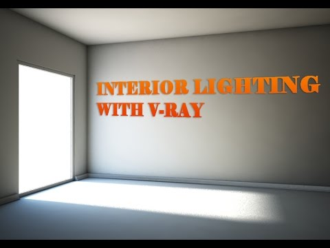 Interior Lighting With V-Ray Sun