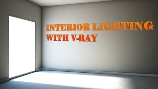 Interior lighting with V-Ray Sun