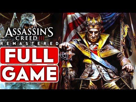 ASSASSIN'S CREED 3 REMASTERED The Tyranny of King Washington Gameplay Walkthrough Part 1 FULL GAME thumbnail