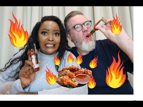 Hot Wings Challenge With A Give Away