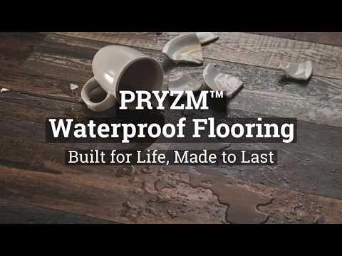 Armstrong Pryzm Waterproof Vinyl Plank Flooring