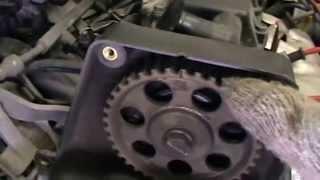 видео замена ремня ГРМ на Шевроле Ланос