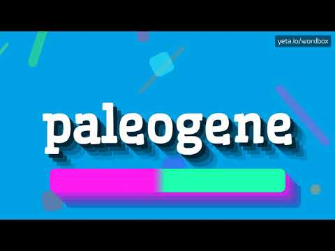 HOW PRONOUNCE PALEOGENE! (BEST QUALITY VOICES)