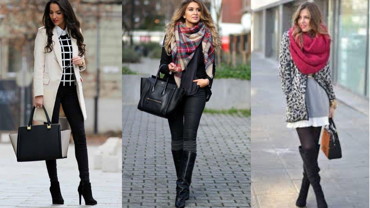 Moda otoño invierno 2019 mujervestidos
