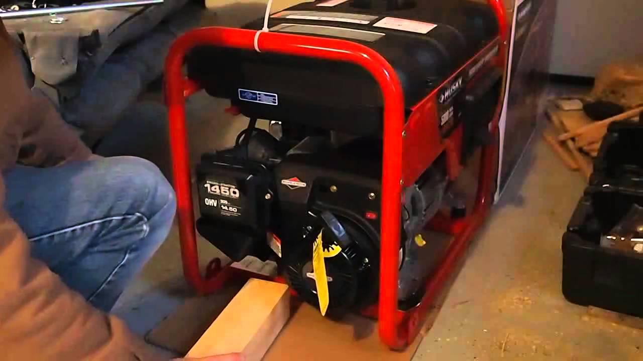 coleman powermate 2500 watt generator manual