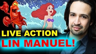 The Little Mermaid Live Action with Lin Manuel Miranda - REACTION