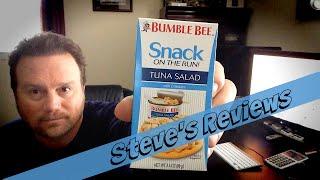 Bumble Bee Tuna Salad ~ Snack On The Run