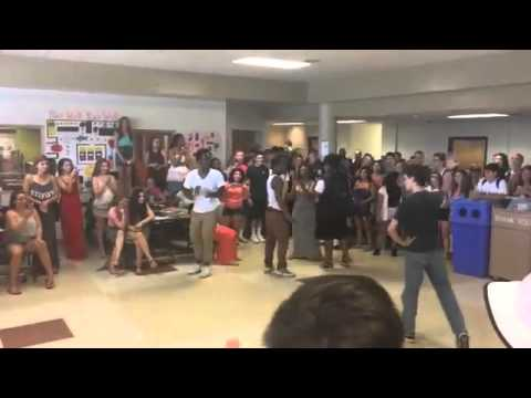White Kid Wins High School Dance Off