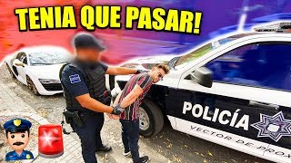 ME ARRESTA LA POLICIA EN MEXICO... 🚨👮🏻♂️🚔