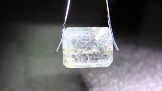Aquamarine Sunstone gem