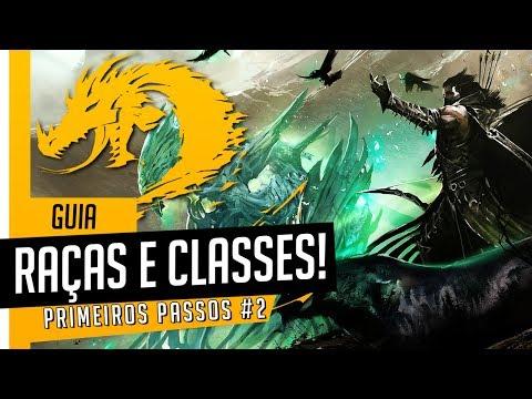 GUIA PARA INICIANTES #2 - Raças e Classes: Melhor Combinação // Guild Wars 2