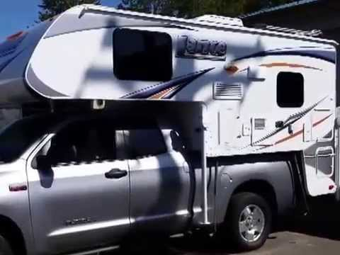 2015 Lance 825 Truck Camper Interior 2013 Tundra